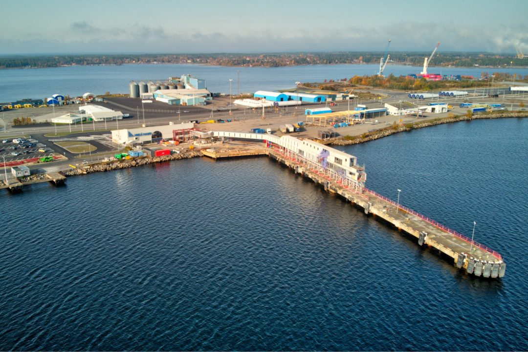 IVAB med i bygget av framtidens hamn
