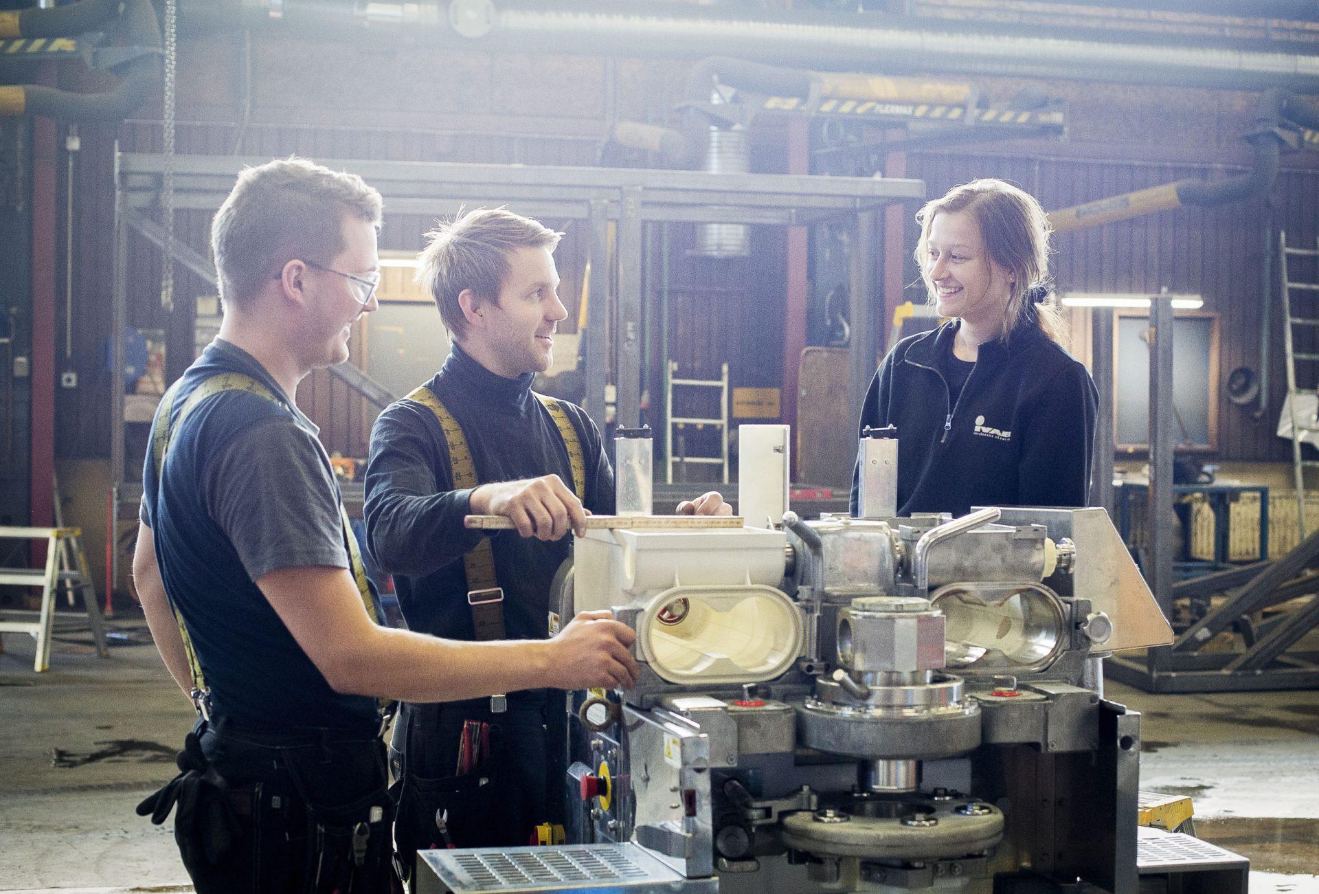 Platschef till vår mekaniska verkstad, Piteå