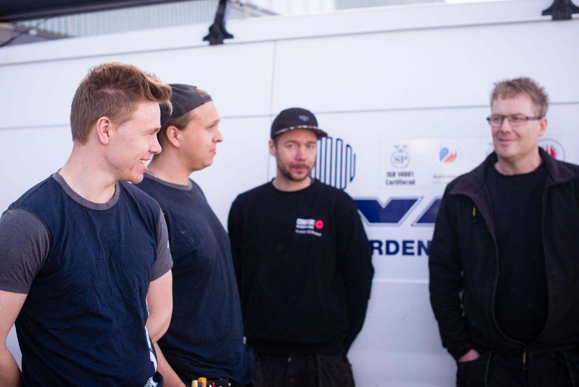 VS-montörer, Skellefteå